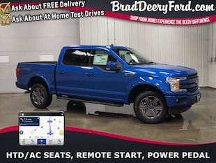 2020 Ford F-150 Lariat SuperCrew 4X4 Truck SuperCrew Cab