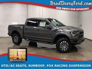 2019 Ford F-150 Raptor SuperCrew 4X4, Nav, Sunroof, HTD/AC Seats, Truck SuperCrew Cab