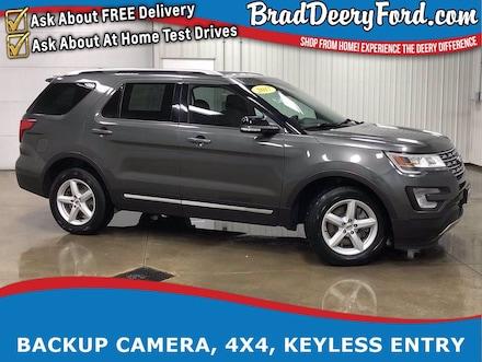 2017 Ford Explorer XLT 4X4 1-Owner w/ Back-Up Camera, Keyless Entry, SUV
