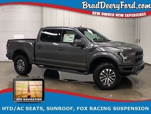 2019 Ford F-150 Raptor SuperCrew 4X4, Nav, Sunroof, HTD/AC Seats, Truck SuperCrew Cab