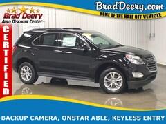 2017 Chevrolet Equinox LT ** GM CERTIFIED ** w/ Leather Seats, Bluetooth FWD  LT w/1LT