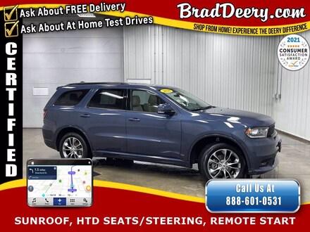2020 Dodge Durango GT Plus AWD  **DODGE CERTIFIED** w/  Navigation, S