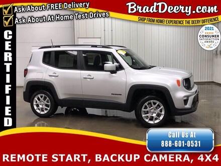 2019 Jeep Renegade Latitude 4X4   **JEEP CERTIFIED** w/ Clean Carfax,