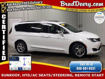 2019 Chrysler Pacifica Limited  ** CHRYSLER CERTIFIED ** w/ Navigation, P