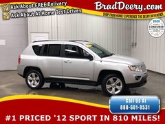 2012 Jeep Compass Sport - Local Trade !! w/ Power Heated Mirrors, Br