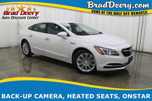 2018 Buick Lacrosse Essence w/ Htd.Lthr Seats, R.Start, B-Up Camera, W Sedan