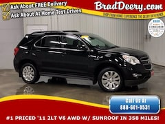 2011 Chevrolet Equinox 2LT AWD - 1-OWNER w/ Heated Leather Seats, Remote