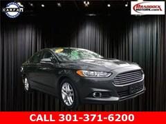 Used 2016 Ford Fusion SE Sedan 1FA6P0HDXG5105127 22418 serving Frederick MD