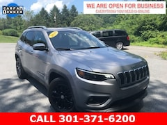 Used 2019 Jeep Cherokee Latitude Plus FWD SUV 1C4PJLLB1KD318800 23052 serving Frederick MD