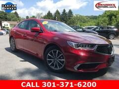 Used 2019 Acura TLX 2.4L Sedan 19UUB1F3XKA010407 23562 serving Frederick MD