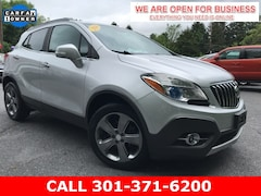 Used 2014 Buick Encore Leather SUV KL4CJCSB5EB519187 23508 serving Frederick MD