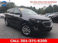 Used 2020 Chevrolet Equinox LT w/1LT SUV 2GNAXKEV7L6159553 23191 serving Frederick MD