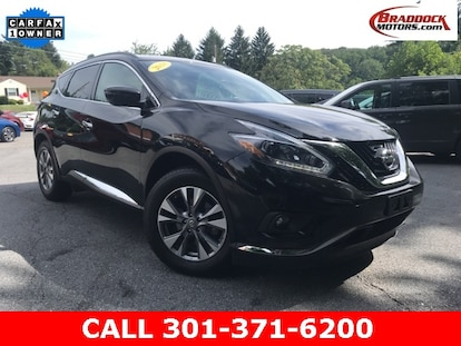 Used 2018 Nissan Murano For Sale at Braddock Motors | VIN