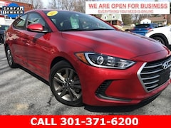 Used 2018 Hyundai Elantra SEL Sedan 5NPD84LFXJH347647 22843 serving Frederick MD