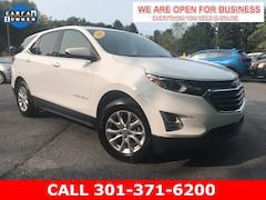 Used 2020 Chevrolet Equinox LT w/1LT SUV 2GNAXKEV3L6147786 23190 serving Frederick MD