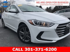 Used 2018 Hyundai Elantra SEL Sedan 5NPD84LF7JH325797 22844 serving Frederick MD