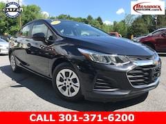 Used 2019 Chevrolet Cruze LS Sedan 1G1BC5SM4K7121033 23505 For Sale in Braddock Heights, MD