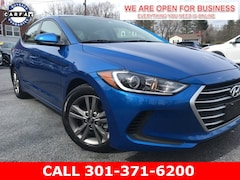Used 2018 Hyundai Elantra SEL Sedan 5NPD84LF5JH365070 22930 serving Frederick MD
