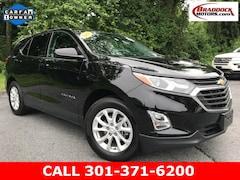 Used 2018 Chevrolet Equinox LT w/1LT SUV 2GNAXJEV6J6343924 23522 For Sale in Braddock Heights, MD