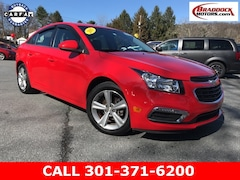 Used 2015 Chevrolet Cruze 2LT Auto Sedan 1G1PE5SB9F7231774 23355A For Sale in Braddock Heights, MD