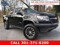 Used 2018 Chevrolet Colorado ZR2 Truck Crew Cab 1GCGTEEN6J1201209 23442 For Sale in Braddock Heights, MD
