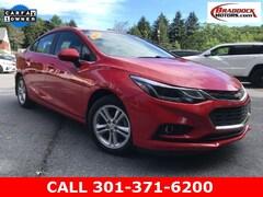 Used 2018 Chevrolet Cruze LT Auto Sedan 1G1BE5SM1J7150708 23571 For Sale in Braddock Heights, MD