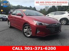 Used 2020 Hyundai Elantra SEL Sedan For Sale in Braddock Heights, MD