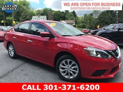 Used 2019 Nissan Sentra SV Sedan 3N1AB7APXKL609785 23068 For Sale in Braddock Heights, MD