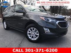 Used 2019 Chevrolet Equinox LT w/1LT SUV 2GNAXKEV1K6283378 23346 serving Frederick MD