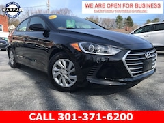 Used 2017 Hyundai Elantra SE Sedan KMHD74LF4HU097014 22817A serving Frederick MD