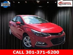 Used 2017 Chevrolet Cruze LT Auto Sedan 1G1BE5SM2H7273718 22505 serving Frederick MD