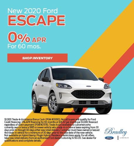 New 2020 Ford Escape - APR