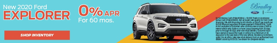 New 2020 Ford Explorer - APR