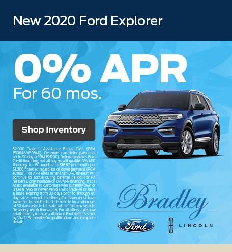 New 2020 Ford Explorer