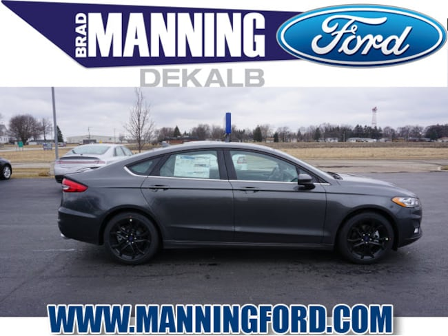 New 2019 Ford Fusion SE Sedan For Sale/Lease DeKalb IL