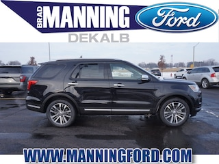 New 2019 Ford Explorer Platinum SUV For Sale DeKalb IL