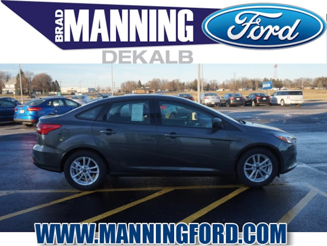 New 2018 Ford Focus SE Sedan For Sale/Lease DeKalb IL