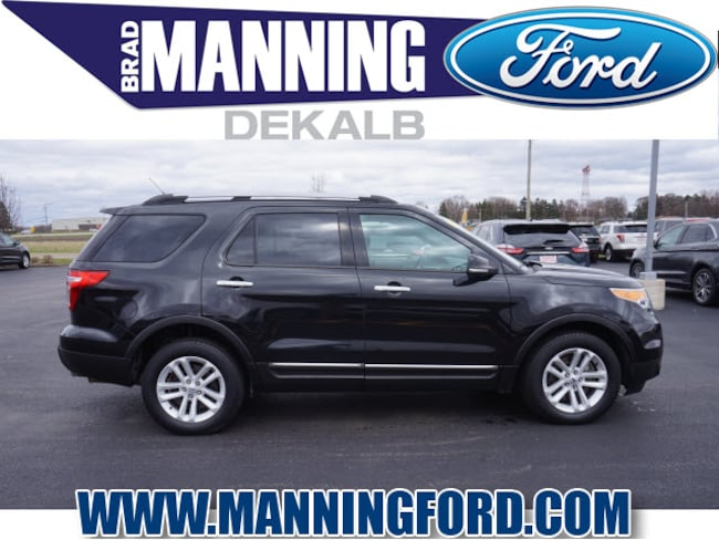 Used 2015 Ford Explorer XLT SUV For Sale DeKalb, IL