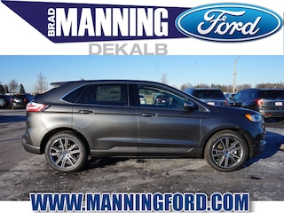 New 2019 Ford Edge Titanium SUV For Sale DeKalb IL
