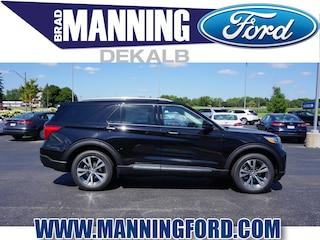 New 2020 Ford Explorer Platinum SUV For Sale DeKalb IL