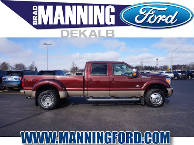 Used 2011 Ford F-350 King Ranch Truck Crew Cab For Sale DeKalb, IL