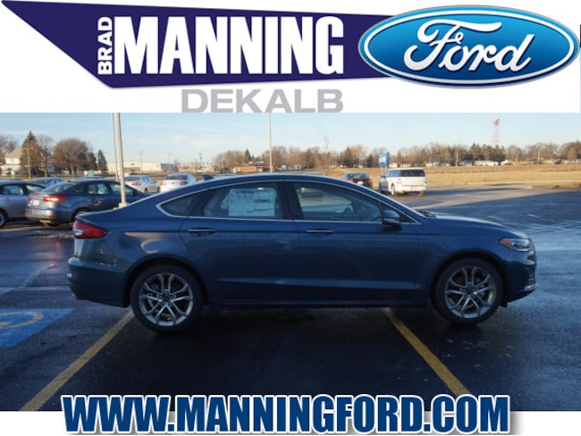New 2019 Ford Fusion SEL Sedan For Sale/Lease DeKalb IL