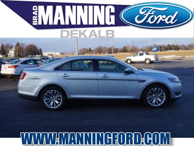 Used 2015 Ford Taurus Limited Sedan For Sale DeKalb, IL