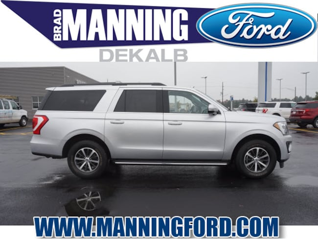 Used 2018 Ford Expedition Max XLT SUV For Sale DeKalb, IL