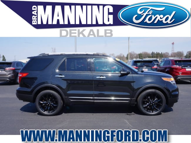 Used 2015 Ford Explorer Limited SUV For Sale DeKalb, IL