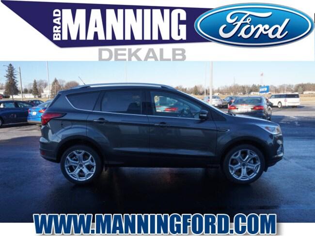 New 2019 Ford Escape Titanium SUV For Sale/Lease DeKalb IL