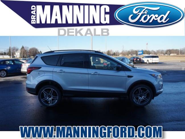 New 2019 Ford Escape SEL SUV For Sale/Lease DeKalb IL