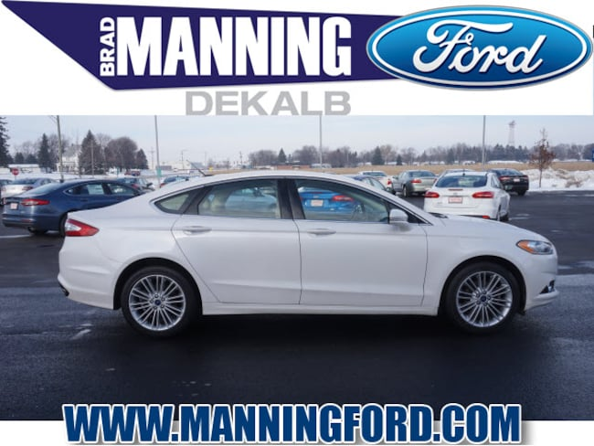 Used 2016 Ford Fusion SE Sedan For Sale DeKalb, IL