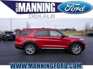 New 2020 Ford Explorer XLT SUV For Sale DeKalb IL
