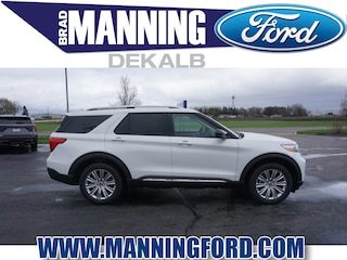 New 2021 Ford Explorer Limited SUV For Sale DeKalb IL